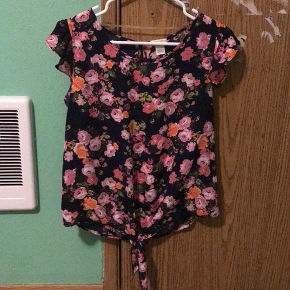 Self Esteem Tops - Floral blouse